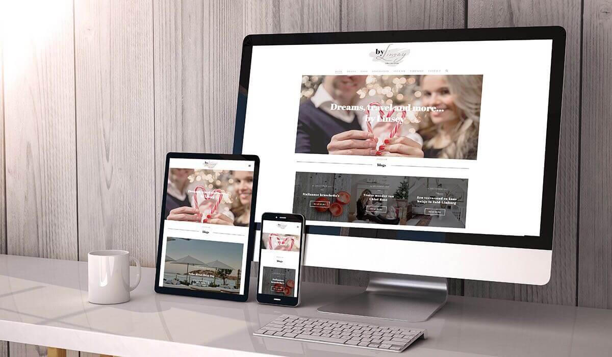 mijn website is online! bylinseymijn website is online!