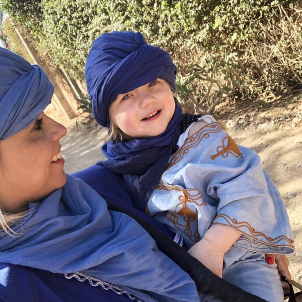 kameel-mama-dochter